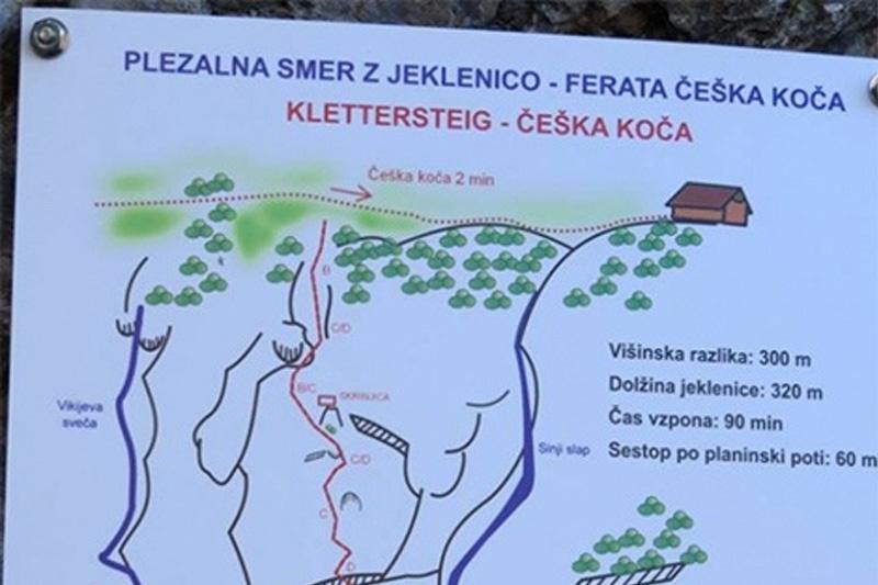 Klettersteig Bandschlinge : Klettersteig via ferrata